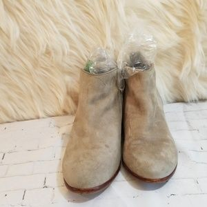 Sam Edelman Tan Suede Boots/Booties